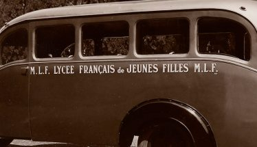 Transport scolaire, années 1940