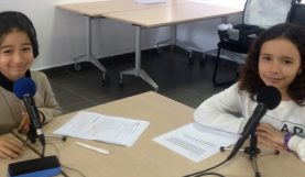 webradio à l'Ecole OSUI André Malraux de Rabat