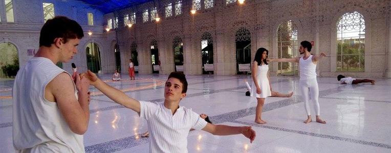 Spectacle de danse avec Wes Howard, Lycée français d'Alicante, mai 2016