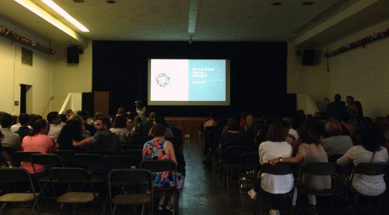 La pré-rentrée 2016 au Lycée International de Los Angeles (USA) ©mlfmonde/LILA/DR