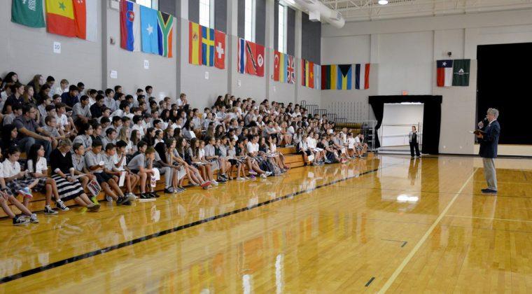 La rentrée 2016 à Awty International School (Houston, USA) ©mlfmonde/AIS/DR