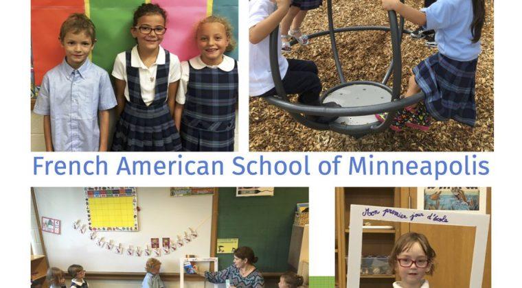 Rentrée 2016 à la French American School of Minneapolis