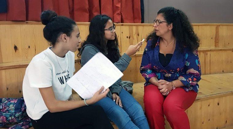 Expo Charcot (El Jadida) Interview d M. Chadid en langue arabe