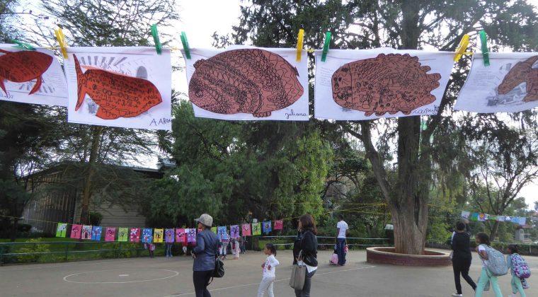 La Grande lessive, Guebré Mariam, Addis Abeba, Ethiopie