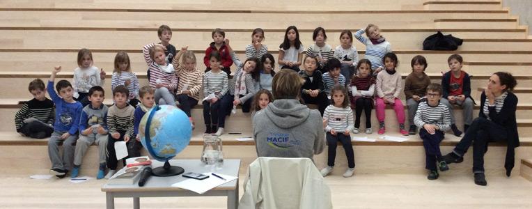 Rencontre avec François Gabart, Lycée français de Stavanger (décembre 2016)t