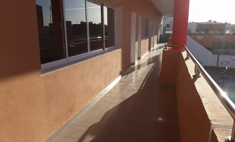 Ecole Osui Paul Pascon, Laâyoune, janvier 2017