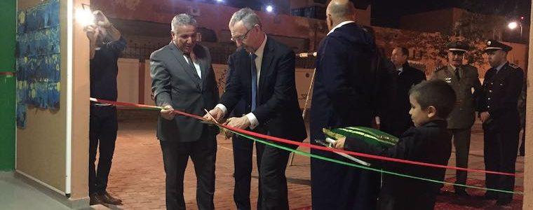 Inauguration de l'école OSUI Paul Pacson Laayoune janvier 2017