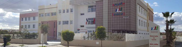 groupe scolaire SandrinéO, Oujda, Maroc