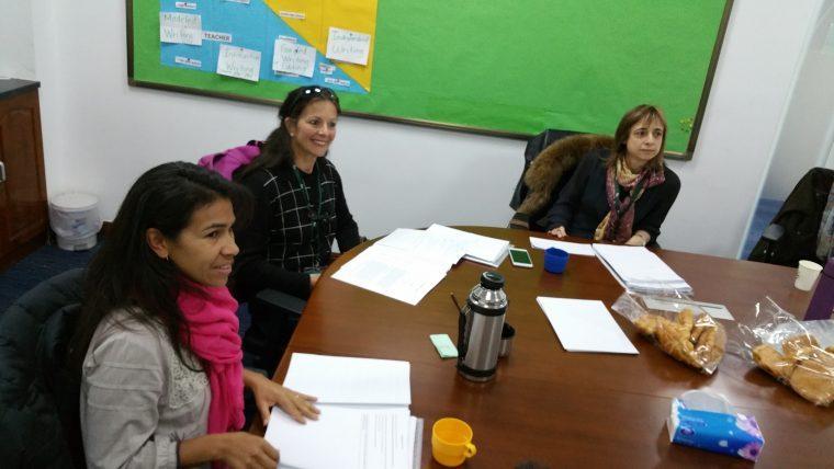 Jury du concours de nouvelles, Wuhan, février 2017