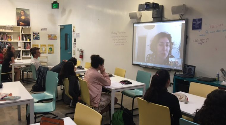 Media Month au Lycée international de Los Angeles, mars 2017