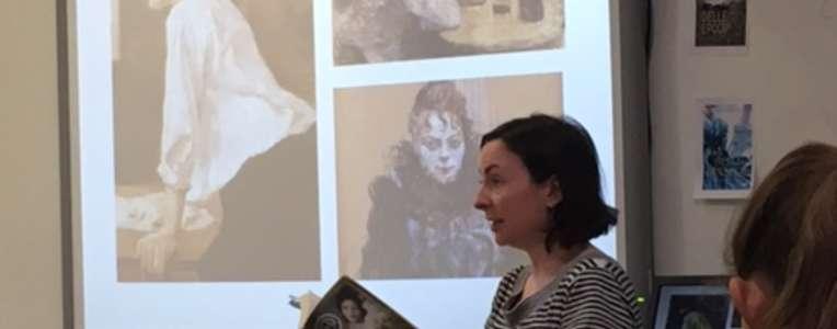 Visite d'Elizabeth Ross, lycee international Los Angeles, avril 2017