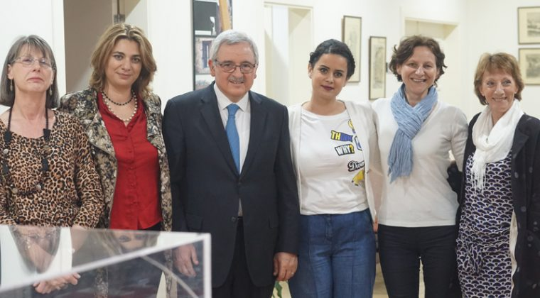 Jean Oghassabian, ministre libanais des Droits de la femme, s'invite dans la campagne #nonauHarcèlement du Lycée franco-libanais Mlf Alphonse de Lamartine de Tripoli