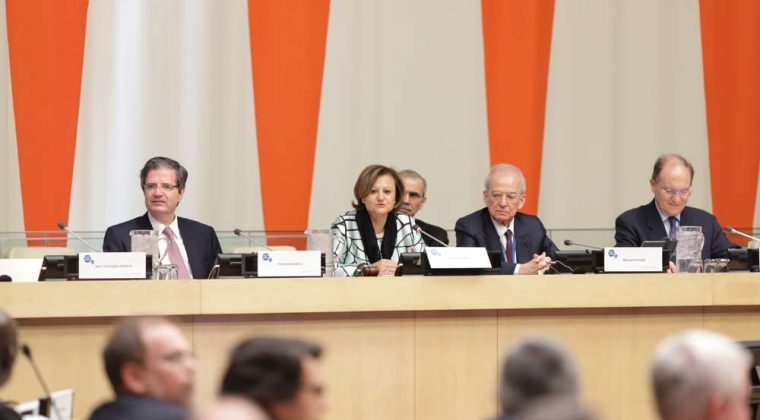 François Delattre, Cristina GAllach, Marwan Hamadé, François Perret