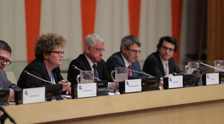 Frédérique Alexandre-Bailly, Denis Rolland, Michel Quéré et Bertrand Monthubert