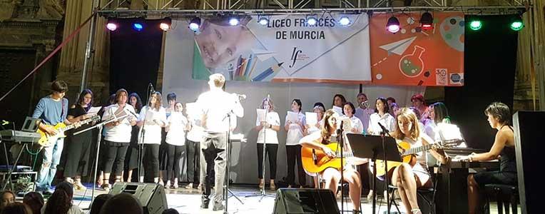 Fête de la musique - Lycée français Mlf de Murcie, juin 2017