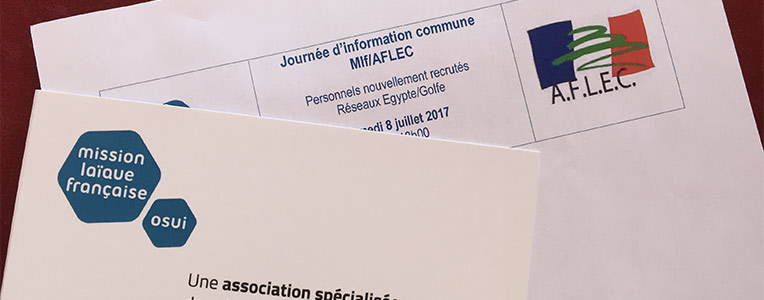Journée d'information commune Mlf AFLEC 8 juillet 2017