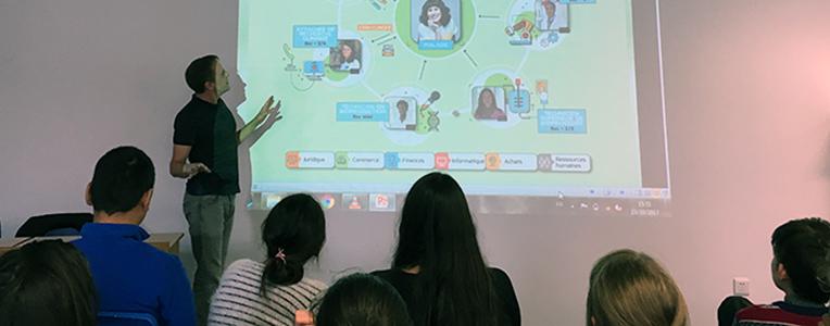 Opération 1000 chercheurs dans les écoles, EFIW Wuhan Chine, 2017