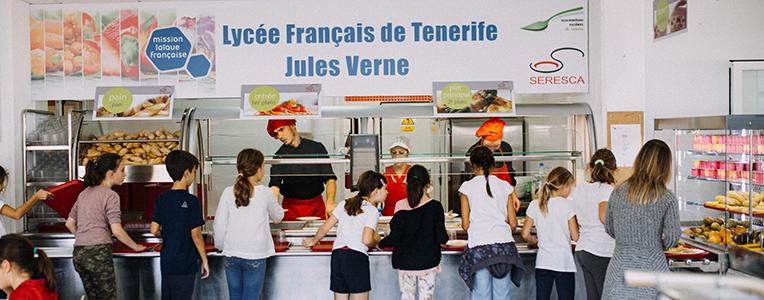 Cantine du Lycée français de Tenerife Jules Verne - nov 2017