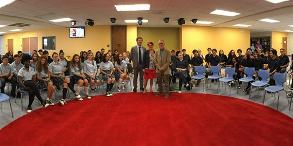 Stage neurosciences éducatives, Dallas International School, novembre 2017