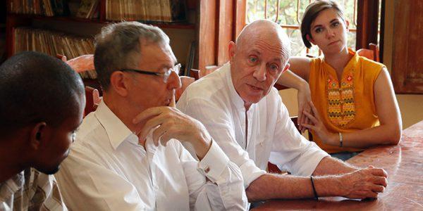 Gérard Borne et Jean-Christophe Deberre, Jacmel, février 2018