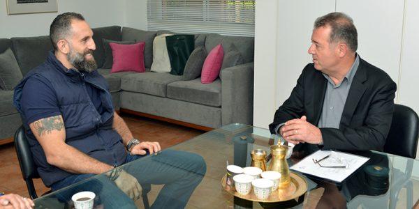 Fadi El Khatib et Michel Sauzet
