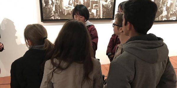 Ecole française internationale de Wuhan, visite au musée d'art moderne de Wuhan