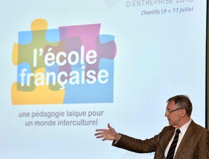 Jean-Christophe Deberre, séminaire des écoles d'entreprises, juillet 2018