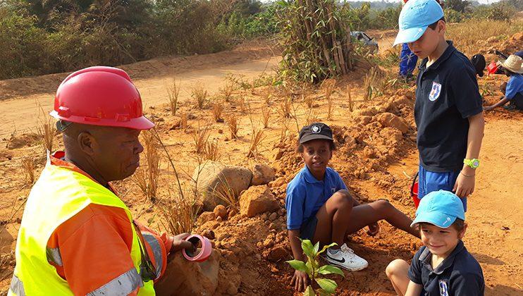Journée de l'environnement, école Mlf Perenco, Muanda