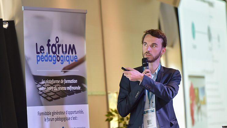 Valentin Moisan, séminaire des écoles d'entreprise, Mlfmonde, juillet 2019