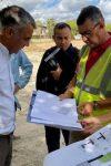 Réunion de chantier à Sa Teulera, Palma de Majorque