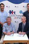Signature du contrat pour la construction du nouveau Lycée français de Palma