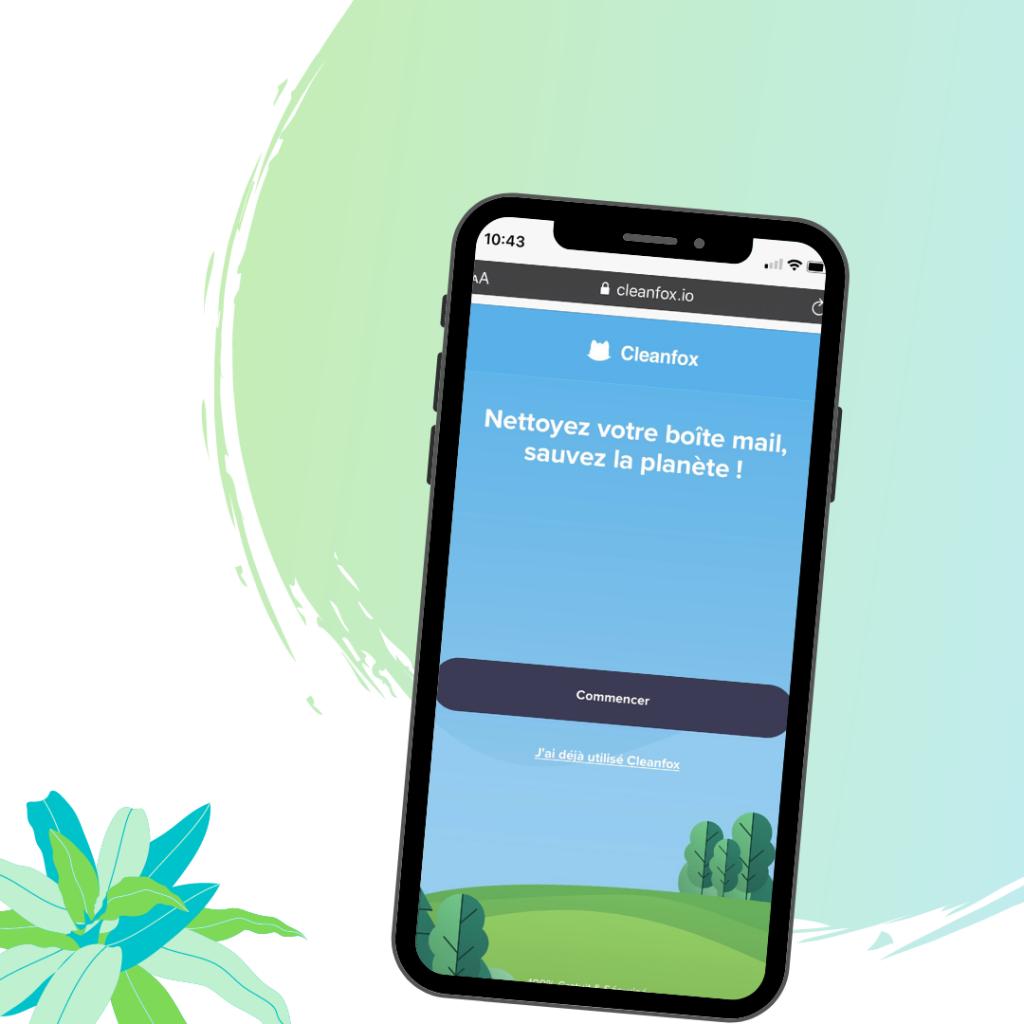 développement durable - cleanfox appli
