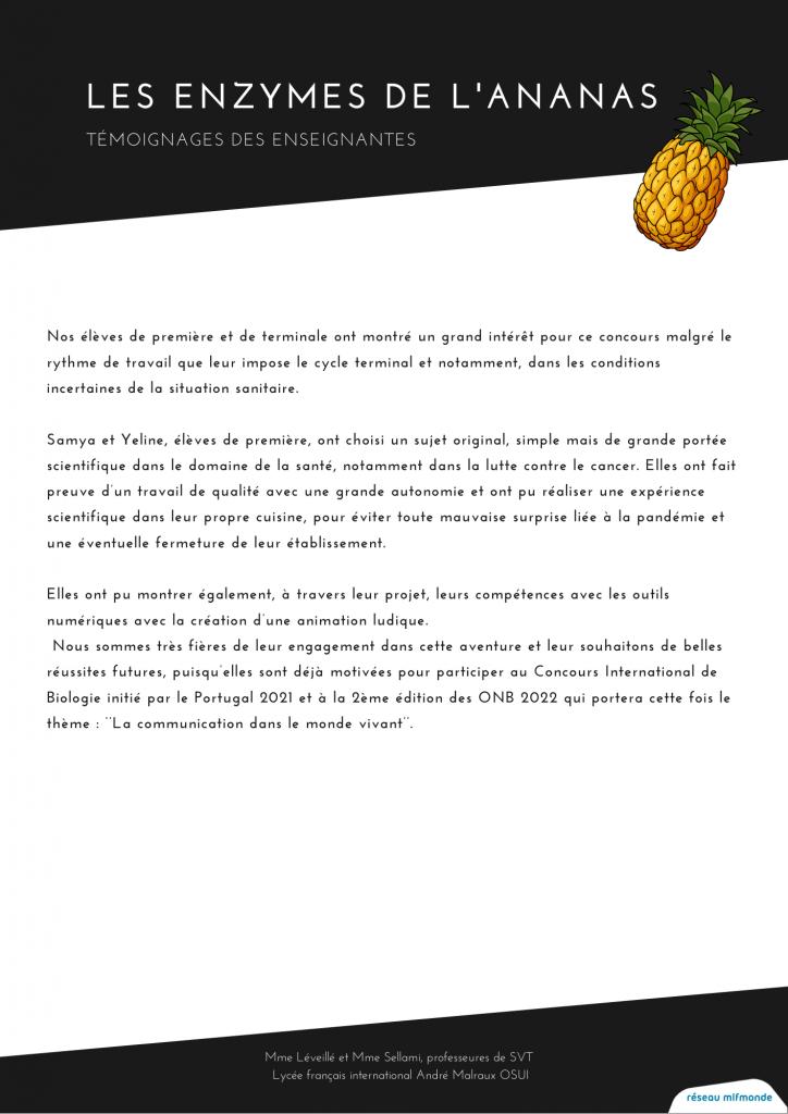 Olympiades Internationales de Biologie - mlfmonde