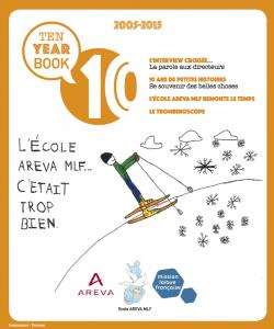 10 year book de l'école Areva-Mlf de Rauma