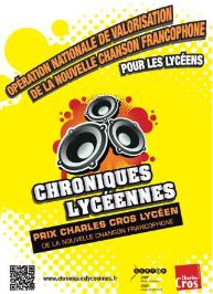 Affiche des Chroniques Lycéennes