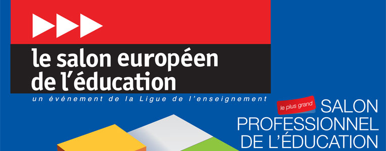 affiche du salon de l'éducation