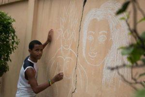 On dessine sur les murs 1