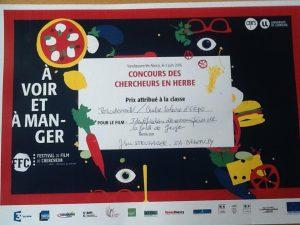 Okpo, centre scolaire français lauréat du concours des chercheurs en herbe 2016