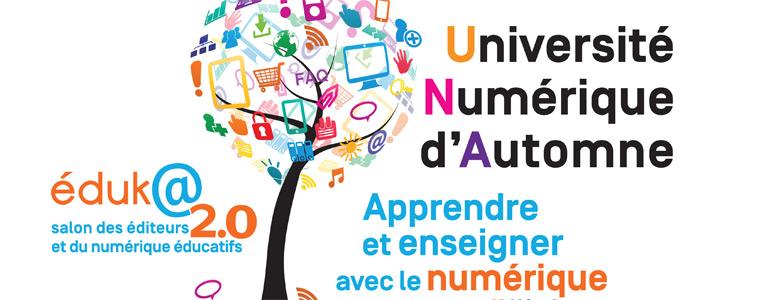 Université numérique d'automne Dijon 2016
