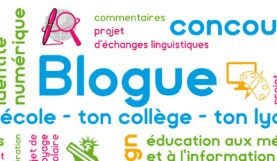 Visuel du concours blogue ton école-collège-lycée 2016