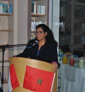 El Jadida 2016 Discours de Merieme Chadid