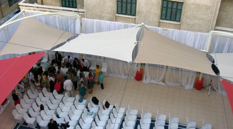 Inauguration de l'annexe du Lycée français d'Alexandrie (12/10/2016) ©mlfmonde/gaëlle charcosset