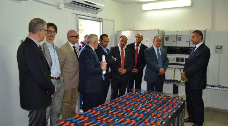 Inauguration de la centrale photovoltaïque du lycée franco-libanais Habbouche Nabatieh, 29/09/2016