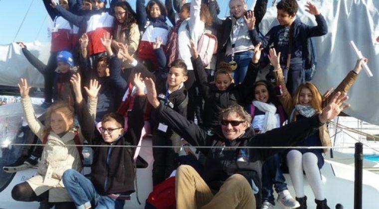 Tout est parti de l'idée folle d'emmener des élèves marocains assister au départ de la course mythique du Vendée Globe suite à la réception d'une invitation du skipper Tanguy de Lamotte reçue en juillet 2015. Deux enseignants, Marylin Rassine et Stéphane Bouron décident alors de mobiliser les cinq classes de CM1 de l'école autour d'un […]