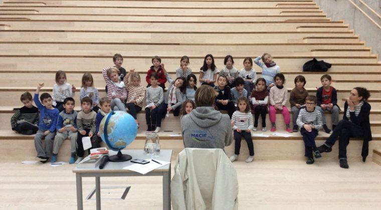 Rencontre avec François Gabart, Lycée français de Stavanger (décembre 2016)