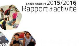 Parution du rapport d'activité 2015-16