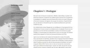 Site biographique d'Emile Bollaert