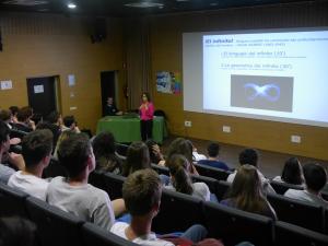 conférence Laura Barrios, Villanueva, mars 2017