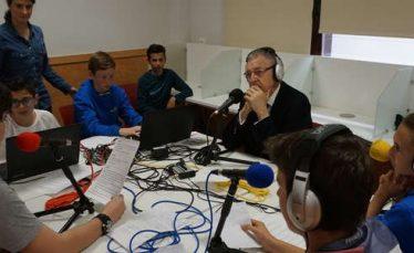 Webradio; lycée Molière; Saragosse; mars 2017
