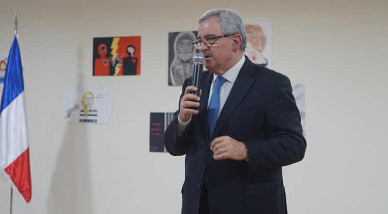 Jean Oghassabian, ministre libanais des Droits de la femme